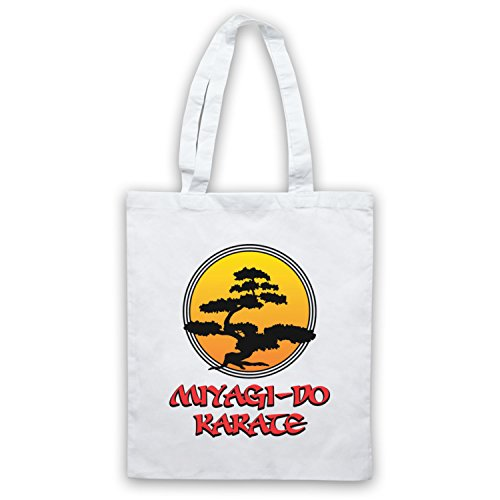 Tree Blanc Do Karate Kid Officieux Miyagi Sac D'emballage Inspire Par Logo Bonsai nw0TS06Px