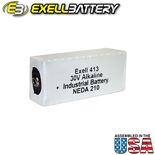(Exell Battery 413A Compatible with Gooch & Housego OL Series 730-Ge Detector)