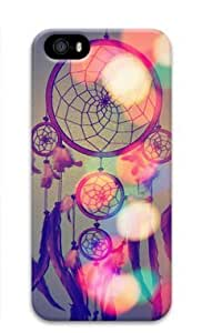 Beautiful Dream Catcher 004 Iphone 5 5S Hard Protective 3D Case by Lilyshouse