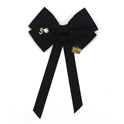Baolustre European And American Red And Green Ribbon Clothing Bow Brooch Fangy170800408,Pa01 by Baolustre (Image #3)