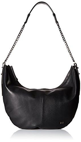 Halston Heritage Hobo Handbag - Black - One Size