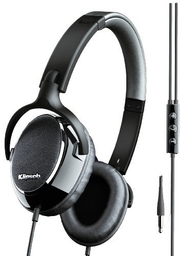 9b18f95a272 Buy Klipsch Image ONE On-Ear Headphone with Mic (Black/Gloss) Online at Low  Prices in India - Amazon.in