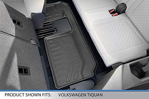 7 Passenger Model MAXLINER Custom Fit Floor Mats 3 Row Liner Set Black for 2018-2019 Volkswagen Tiguan with 3rd Row Seats