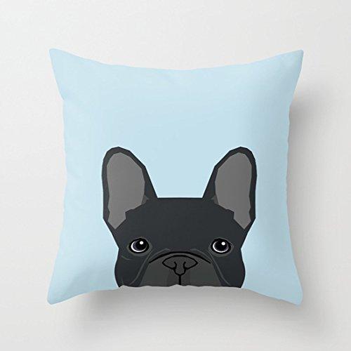 2019 - Funda de cojín de algodón con diseño de Bulldog ...
