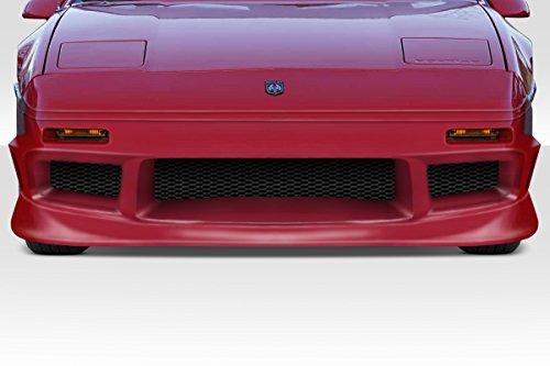 Duraflex Replacement for 1984-1988 Pontiac Fiero GP-1 Front Bumper - 1 Piece (Front Gp1 Bumper)