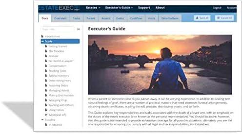 EstateExec Estate Executor Online Software