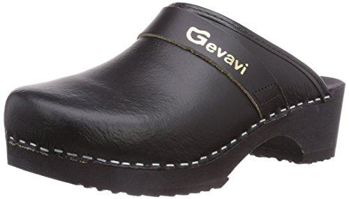 Mixte Muil Gevavi Noir Adulte 9200 Zwart43 Schwarzzwart Sabots wqC6qX