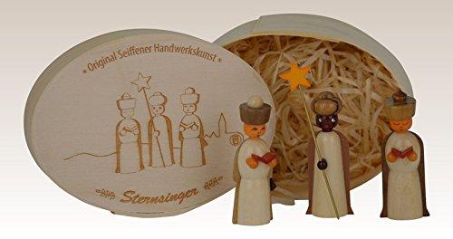 Miniatures star Singers in the splinter box, unpainted 11,5cmx8cm h=5cm NEW