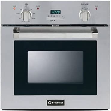 Verona Verona VEBIE24PSS Stainless Steel Self Cleaning Electric Wall Oven, 24