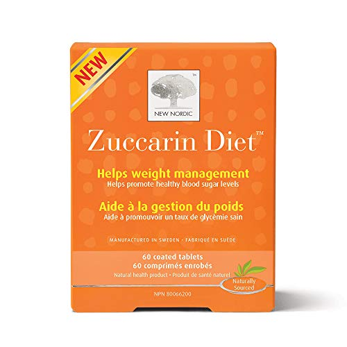 New Nordic Zuccarin Diet With Mulberry Leaves For Weight Management, 60 Tablets Helps Reduce Carbohydrate Absorption