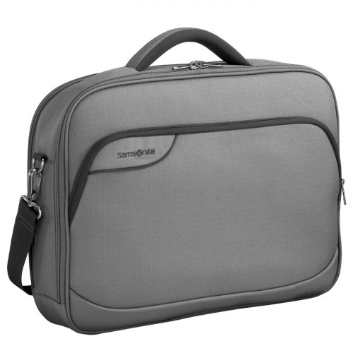 "Samsonite Office Case 18.4, grau 18.4"" Sleeve case Grey - notebook cases (grau, 46.7 cm (18.4""), Sleeve case, Grey, Polyester, 700 g, 440 x 45 x 300 mm)"