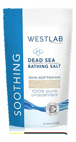 Pure Dead Sea Salt - Dead Sea Salt Mineral Bathing (Soothing, for Irritated Skin) 2 Pack (4.4 lb total)