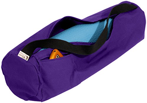Purple Cotton Mat Bag - 8