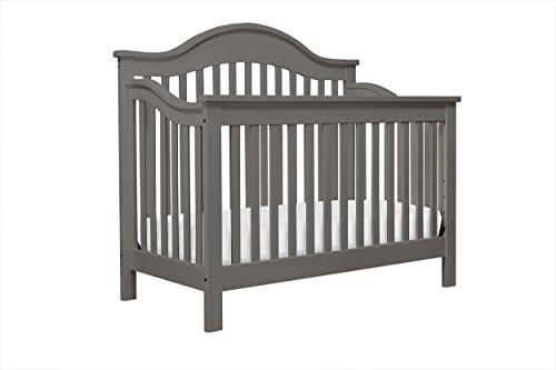 DaVinci Jayden 4-in-1 Convertible Crib, Slate (Da Vinci Kalani Convertible Crib)