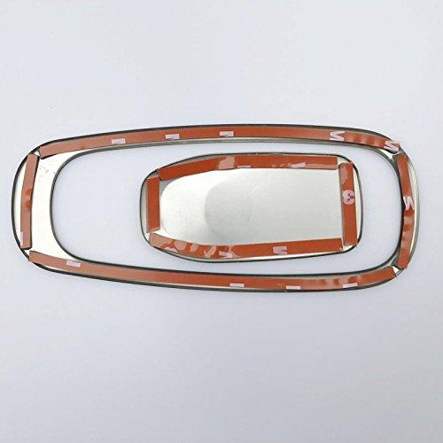 Edelstahl Innen Handschuh Box Griff Dekoration Cover Trim 1/F/ür Kfz Zubeh/ör vvc6