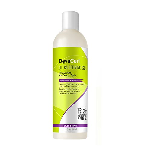DevaCurl Ultra Defining Hair Gel, 12oz (Best Hair Straightening Method)