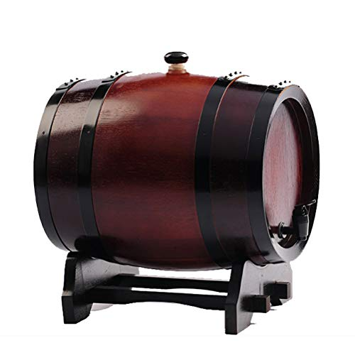 - Yilian Jiutong Boldless Oak Wine Barrel 3 liters 5 liters 10L20L30 liters Baking Oak Barrels Wine Barrels self-Brewed Wine Barrels Wine (Color : C, Size : 10L)