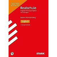 STARK Original-Prüfungen Realschule 2020 - Englisch - BaWü