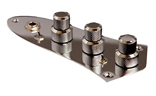 John East Retro Jazz Bass 3-Band Preamp - Chrome