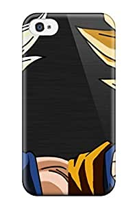Hard Plastic Iphone 4/4s Case Back Cover,hot Goku And Vegeta Case At Perfect Diy