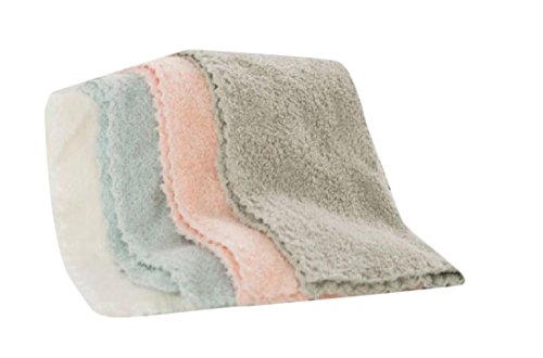 Zimaes Thick Super Soft for Kitchens 4 Pack Drying Rags Abso