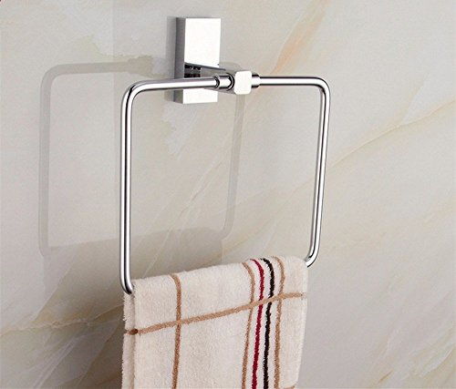 HOMEE Simple European Style Bathroom Towel Ring Bathroom Towel Rack Shelf,A by HOMEE