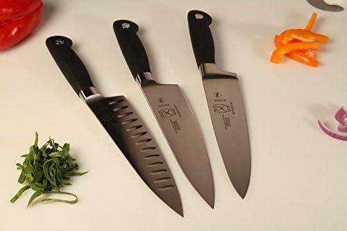 MERCER CULINARY GENESIS 8-INCH SHORT BOLSTER CHEF'S KNIFE