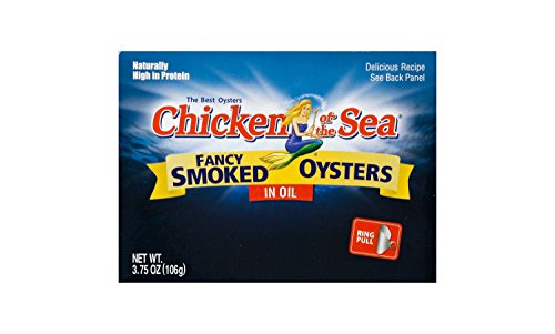 Chicken of the Sea Smoked Oysters in Oil, 3.75-ounce (Pack of ()