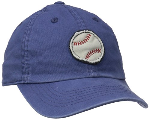 Life is good Boy's Tattered Chill Baseball Cap, Darkest Blue, Small