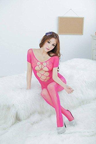Y Le Rosa Xiang Nightwear Calzetteria Donne Body Lingerie Trasparente Ru Floreali Per xwqU1TB