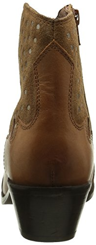 Pepe Jeans Dina Studs, Stivali Chelsea Donna Marrone (Braun (Nut Brown877))