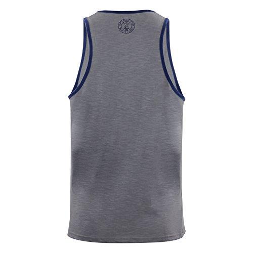 Crosshatch - Camiseta de tirantes - para hombre Gris Acero