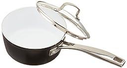 Cuisinart Saucepan with Cover, 2 quart, Black