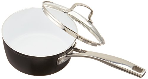 Cuisinart Saucepan with Cover, 2 quart, Black
