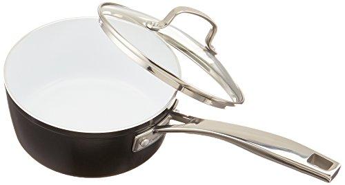 Cuisinart 59I19-18BK Saucepan with Cover, 2 quart, Black