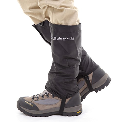 Eco Ride World Outdoor Waterproof Trekking Hiking Walking Climbing Hunting Snow Legging Gaiters
