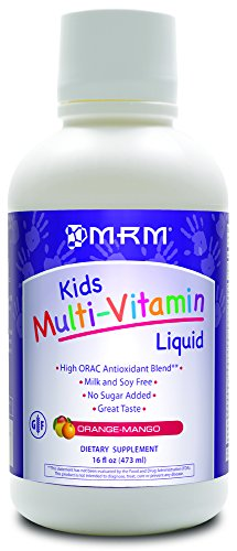 MRM Multi-Vitamin Liquid Supplement, Orange/Mango, 16 Fluid Ounce