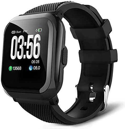 WillsCoo Smart Watch Fitness Tracker for Android Phones Smartwatch Fitness Watch Heart Rate, Sleep Monitor, Pedometer, Calorie Counter, Compatible with iPhone, for Mem, Women, and Kids