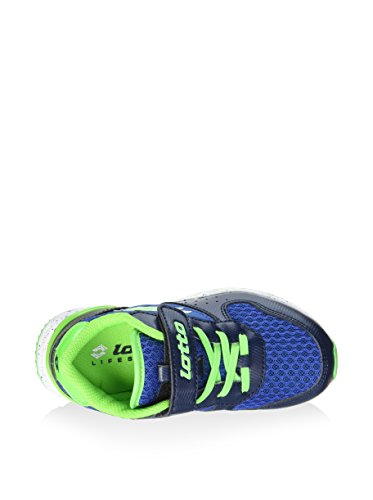 Lotto Sport - Zapatillas de voleibol de Material Sintético para hombre Varios Colores Multicolore Azul / Verde