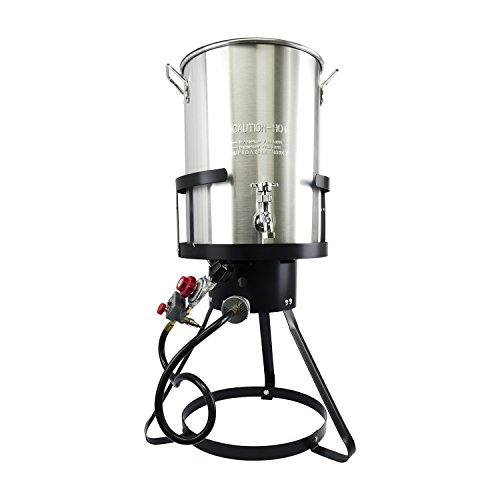 CHARD TFPS30A Aluminum Fryer Pack with Spigot, 30 Quart