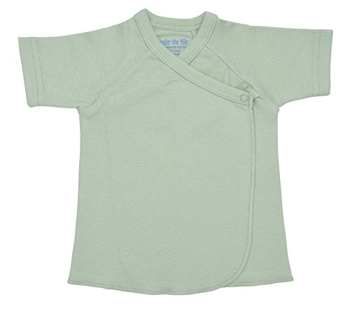 -Sleeve Tee Shirt, Organic Cotton (3-6 Months/Green) ()