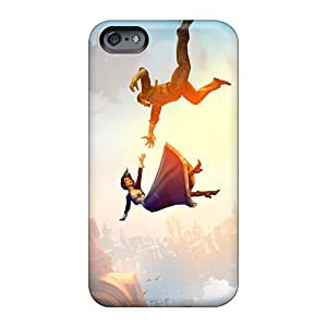Shock Absorbent Hard Phone Cases For Apple Iphone 6 Plus (KAx1718nAsl) Allow Personal Design Stylish Bioshock Infinite Falling Image