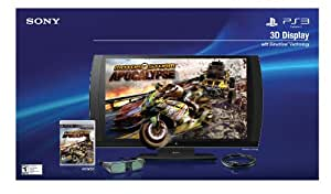 PlayStation 3D 24-inchLCD Display With 3D Glasses