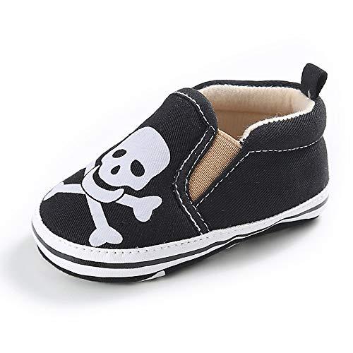 3a11fd6384658 Tutoo Unisex Baby Boys Girls Star High Top Sneaker Soft Sole Newborn Infant  First Walkers Canvas Denim Polka Dot Non Slip Bottom Shoes (6-12 Months M  ...