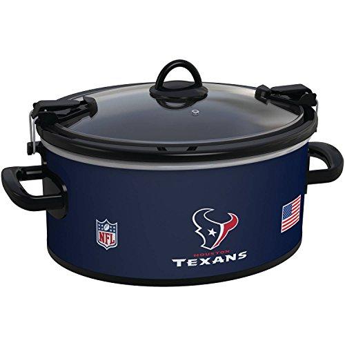 Crock Pot Nfl Houston Texans 6 Quart Original Slow Cooker