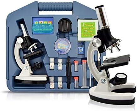 1200Xイルミネーション現在の顕微鏡ズーム単眼生物顕微鏡プレゼントギフト教育玩具顕微鏡