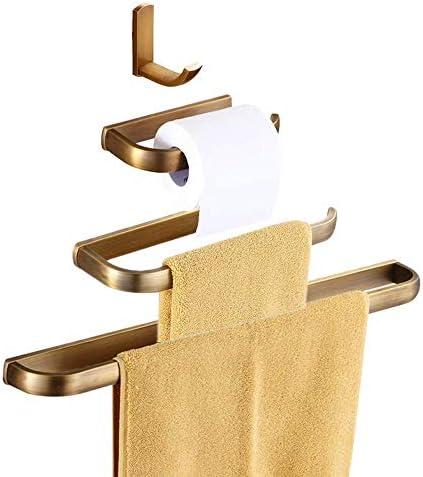 Towel Rail Gold Brass Baroque Bathroom Accessories Wc Toilet Bath Classic Luxury