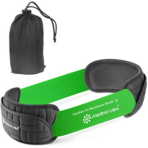 Metric USA Comfort Pads. Set of 1 Pair to use with Resistance Loop Bands. to Prevent Exercise Band from Digging in and tangling. Carrying Pouch Included for Easy Carrying to Gym or Physical Therapy.