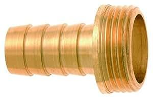 'Geka 75CH manguera unión 1/3CH g 1/2pulgadas pesado 10mm de latón, Oro, 18x 8x 13cm