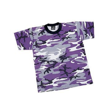 Rothco Kids T-Shirt, Ultra Violet, X-Large